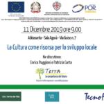 """Seminario percorso Terra: """"La cultura come risorsa per lo sviluppo locale"""""""