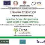 """Seminario percorso """"Terra – Le competenze del futuro"""". Agricoltura, turismo ed enogastronomia: scenari possibili di sviluppo del territorio"""