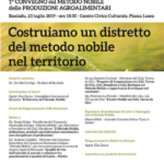 I convegno sul Metodo Nobile delle produzioni agroalimentari