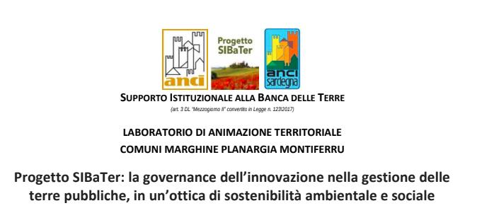 """Webinar """"La governance dell'innovazione nella gestione delle terre pubbliche, in un'ottica di sostenibilità ambientale e sociale"""""""